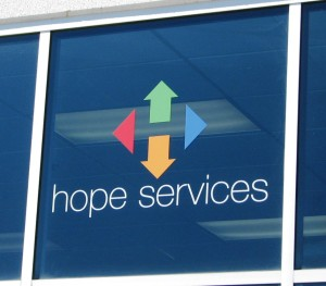 Contour Cut Graphics - Hope Services