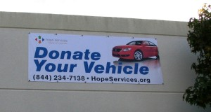 Digital Print Banner - Hope Services