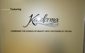 Logo Overlay on Privacy Film - Kaiderma Skin Care
