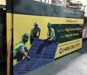 New Field Panel Signs - San Jose Conservation Corp