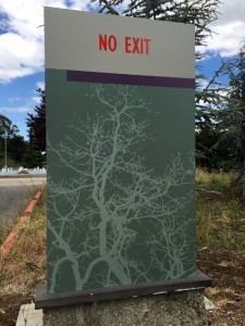 Parking Directory Monument - Foothill College