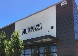 LED Channel Letters - MOD Pizza