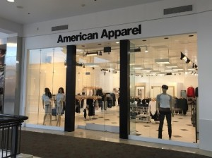 Mall Store Sign - American Apparel