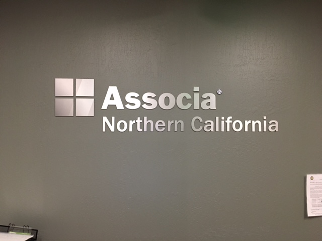 Associa Lobby Signs for Business in San Jose, CA
