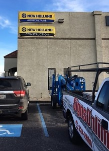 Building Sign - New Holland