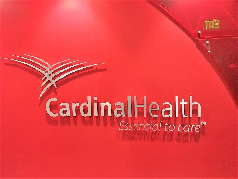 New Lobby Logo and Wall Panels for Cardinal Health in San Jose, CA