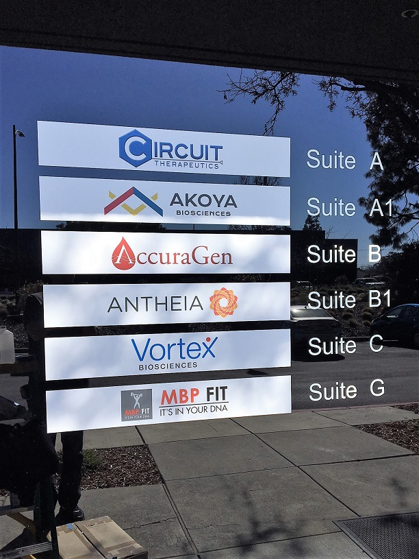 Glass Vinyl Window Signs for Business in San Jose, CA