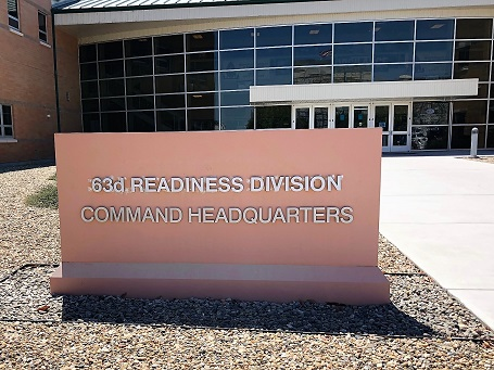 Commercial Monument Signs for Command Headquarter in San Jose, CA
