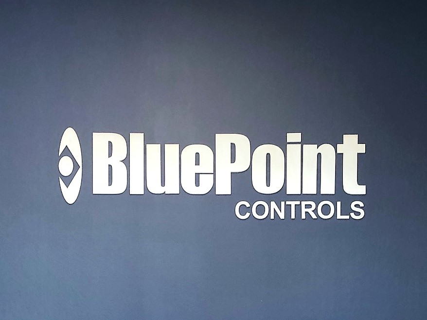 Office Lobby Signs for Blue Point in San Jose, CA
