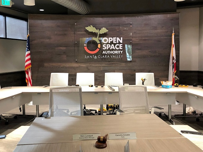 Custom Acrylic Lobby Signs for Open Space in San Jose, CA
