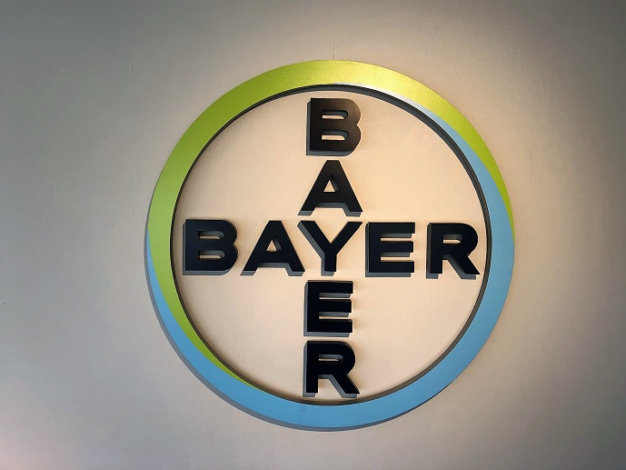 Bayer Lobby Sign Letters Made in San Jose, CA