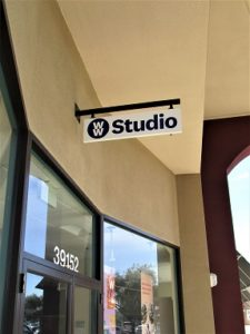 Interior Suspended Hanging Signs in San Jose, CA